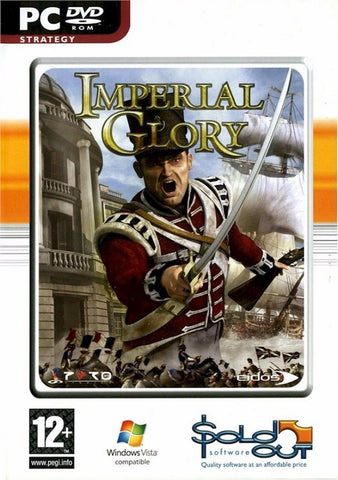 Imperial Glory 12+ Computer Strategy Battle Military Action War Game PC DVD