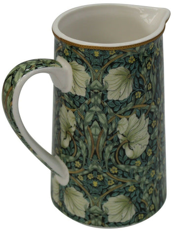 William Morris Fine China 500ml Jug Floral Pimpernel Design Milk Coffee Tea Jug