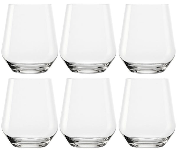 Stölzle Set of 6 Whiskey Cognac Glasses Tumblers Made in Germany