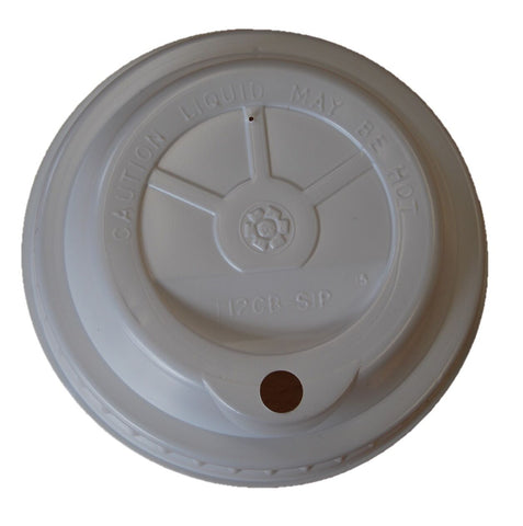 1790 X Solo Europe Sip Coffee Cup Lids Hot Cup Lids 100 Per Sleeve White 8oz