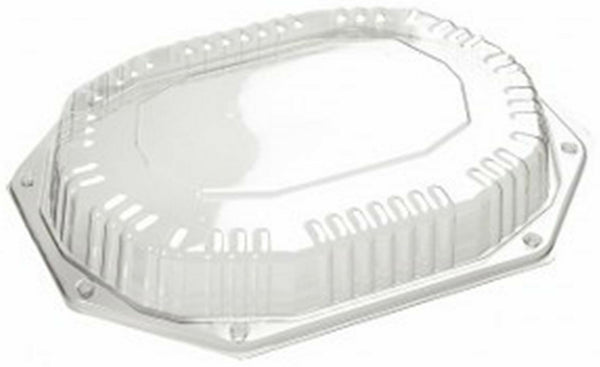 100 x CS335/250 Catering Tray Lids Plastic Buffet Tray Lids Catering Supplies