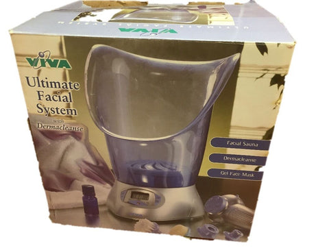Viva Ultimate Facial System With Dermacleanse - Facial Sauna - Cooling Gel Mask