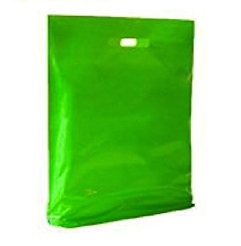 350 x Stallone Virgin Green Plastic Patch Handle