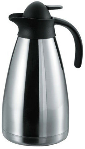Sunnex 1.5 Litre Large Stainless Steel Vacuum Flask  High Polish Table Jug