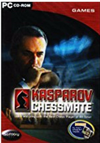 Soft Key Kasparov Chessmate PC Cd Rom Computer Game Learn And Play With The Best