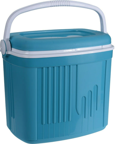 32 Litre or 8 Litre Cooler Box Picnic Insulated Box With Locking Lid Turquoise