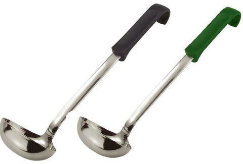 Zodiac Professional Soup Ladle Stainless Steel With Ergonomic, easy grip handle