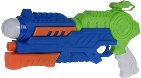 42cm Pump Action Water Gun Shoots Up To 22 feet Green & Blue