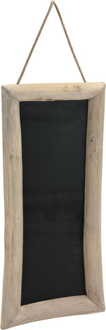 Large Teak Wood Blackboard Memo Board Notice Board Retro Cafe Sign