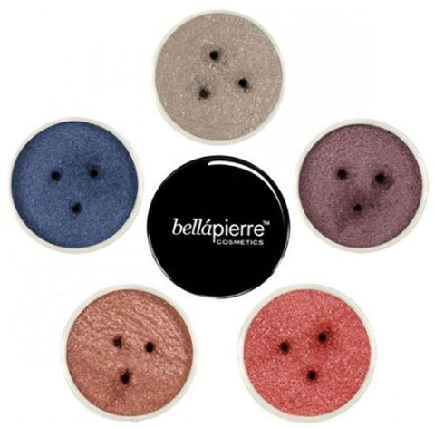 Bellapierre Mineral Make Up Eye Shadow Glitter Powder Lots of Wild Colours
