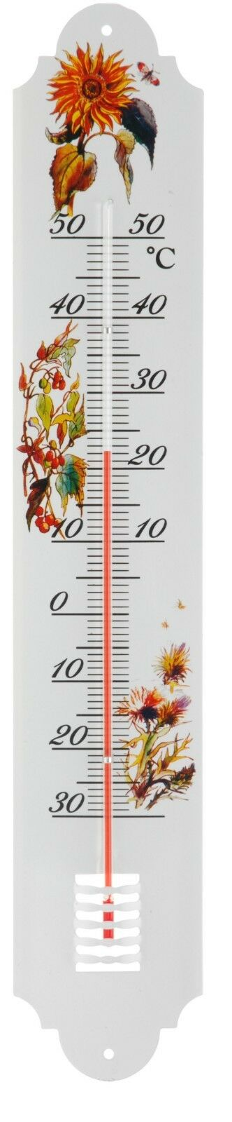 Super Large Metal 50cm Tall Garden Thermometer