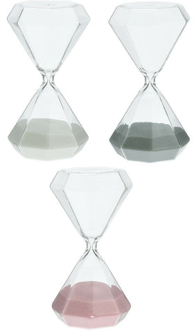 60 Minute Sand Timer Large Hexagon Shaped 1 Hour Glass Sand timer