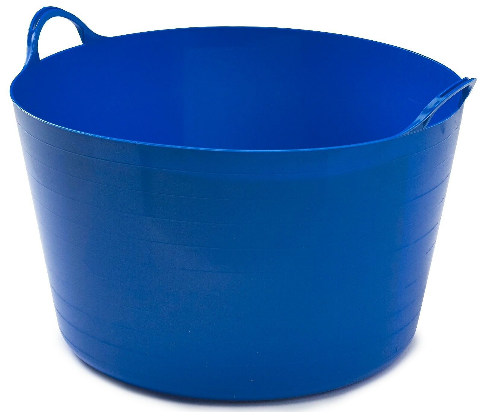 Flexible Plastic Flexi Tub Bucket Storage Log Basket Box & Handles Very Sturdy