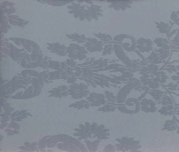 Large Silver Floral Design Christmas Party Tablecloths 180 x 130 cm