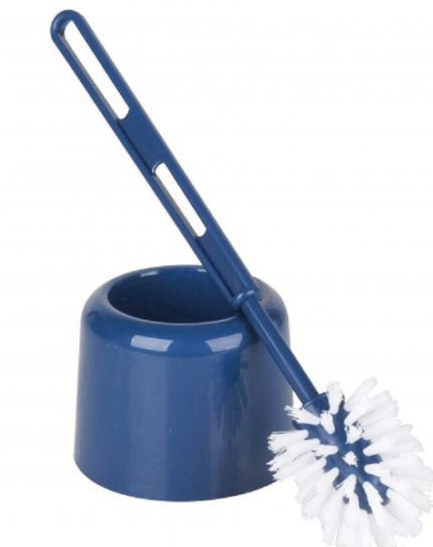 Plastic Toilet Brush & Holder available in a choice of colours