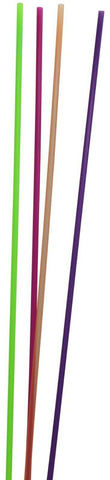 Pack of 100 JUMBO Straws Multi Coloured 75cm Extra Long Straws Plastic Straws