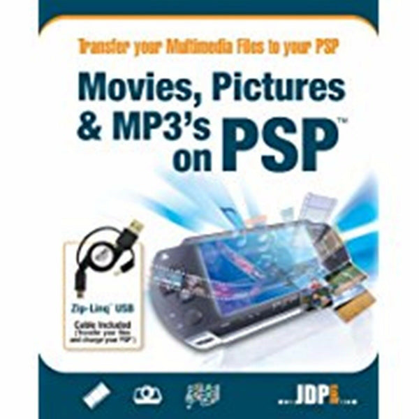JDP Software Movies Pictures & MP3 On PSP PC Transfer Movies Photos & Music