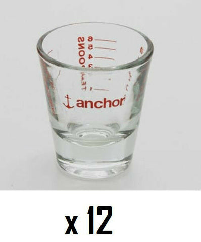 Anchor Hocking 96522 Shot Glasses Pack Of 12 Kitchen Shot Glass