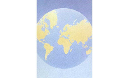 Decadry OPF3513 World Globe Letterhead Party Themed A4 Paper Certificate Paper