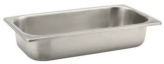 Sunnex Gastronorm 1/3 100MM / 4 Litre Deep Stainless Steel Container
