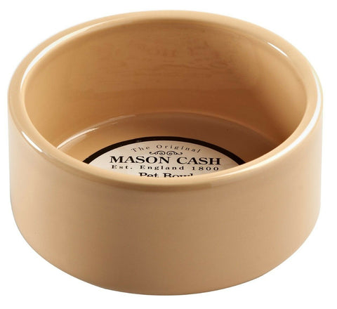 Mason Cash Cane Pet Bowl Stoneware Heavyweight For Dogs & Cats