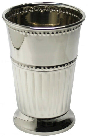 Large Polished Stainless Steel Julep Cup 13oz Silver Goblet