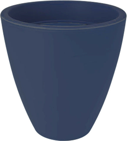 Bright Coloured Plastic Large Round Plant Pots Planters Blue Green Red 29 cm