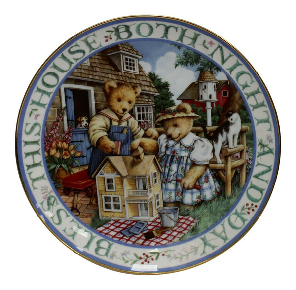 Royal Doulton China Bless This House Limited Edition Plate Number MA2357
