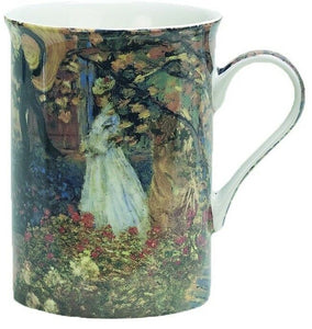 Heath McCabe Monet's Luncheon Fine China Artist Design Mug