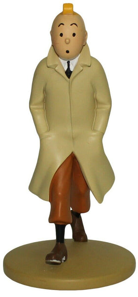 Collection Figurine Tintin Walking Trench Coat 12cm Moulinsart 29300001 (2018)
