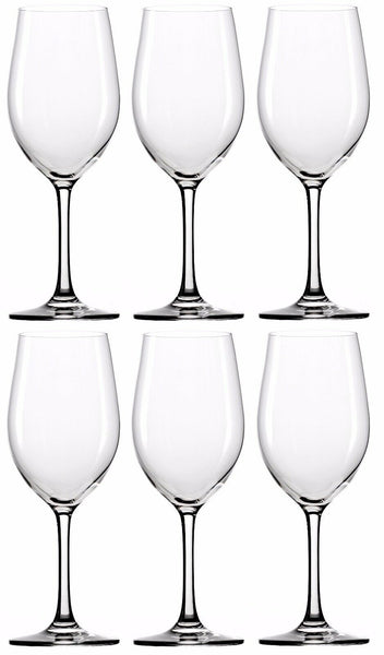 Stölzle Lausitz Classic Long-Life White Wine Glasses 370ml Set of 6