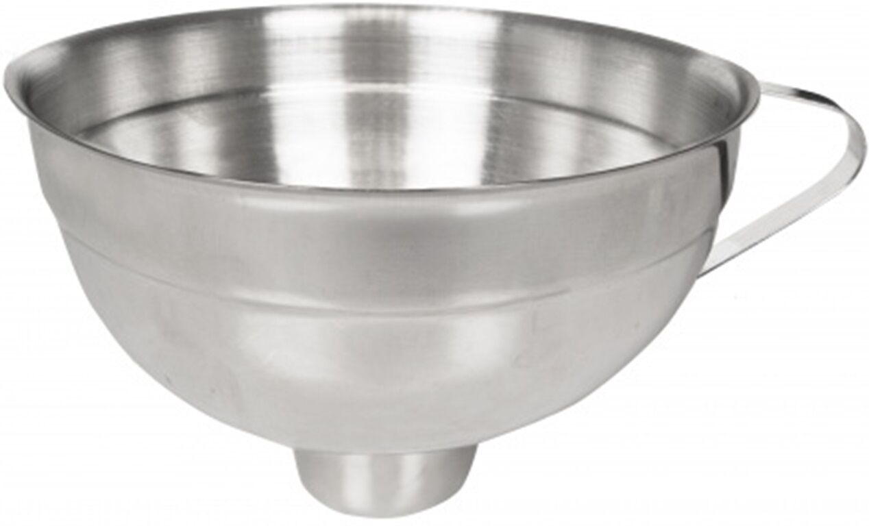 Country Kitchen Stainless Steel Funnel Jam Chutney Maslin Pan to Jars
