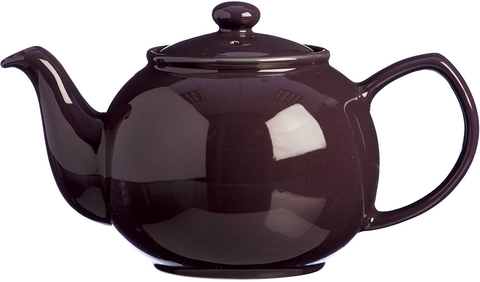 Price & Kensington Berry 6 Cup Traditional Fine Stoneware Teapot, Ceramic Purple