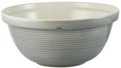 Mason Cash William Mason 29cm Rippled Mixing Bowl Grey Extra Large Mixing Bowl