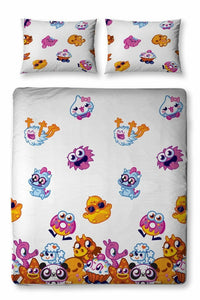 Mind Candy Moshi Monsters Moshling Double Duvet Set With Pillowcase