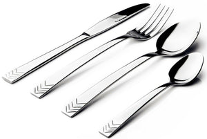 Sabichi Arrow 16 Piece Stainless Steel Arrow Design Cutlery Set in Gift Box
