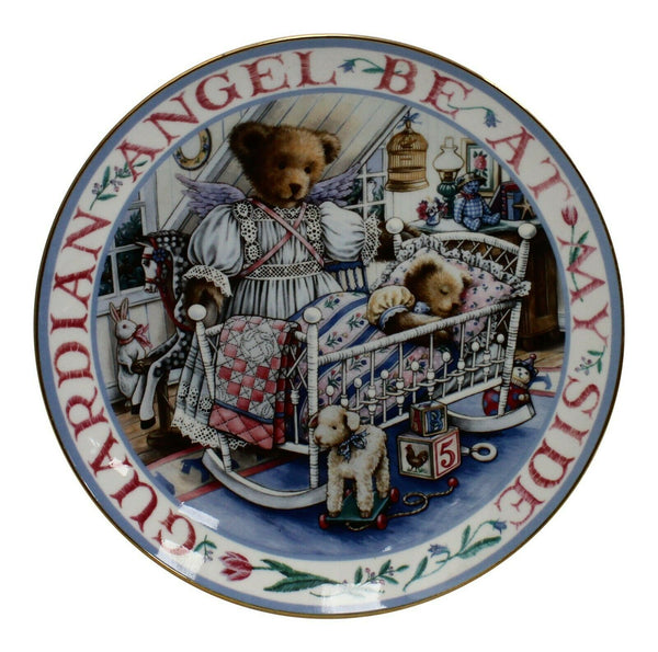 Royal Doulton China Teddy's Guardian Angel Limited Edition Plate Number MA2559