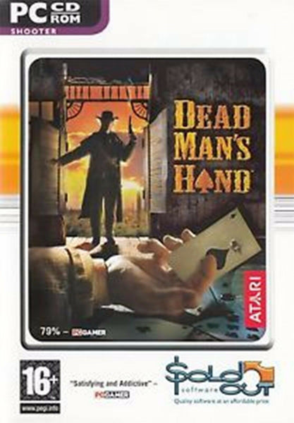 Dead Mans Hand PC Cd Rom First Person Shooter Gun Fights Computer Game