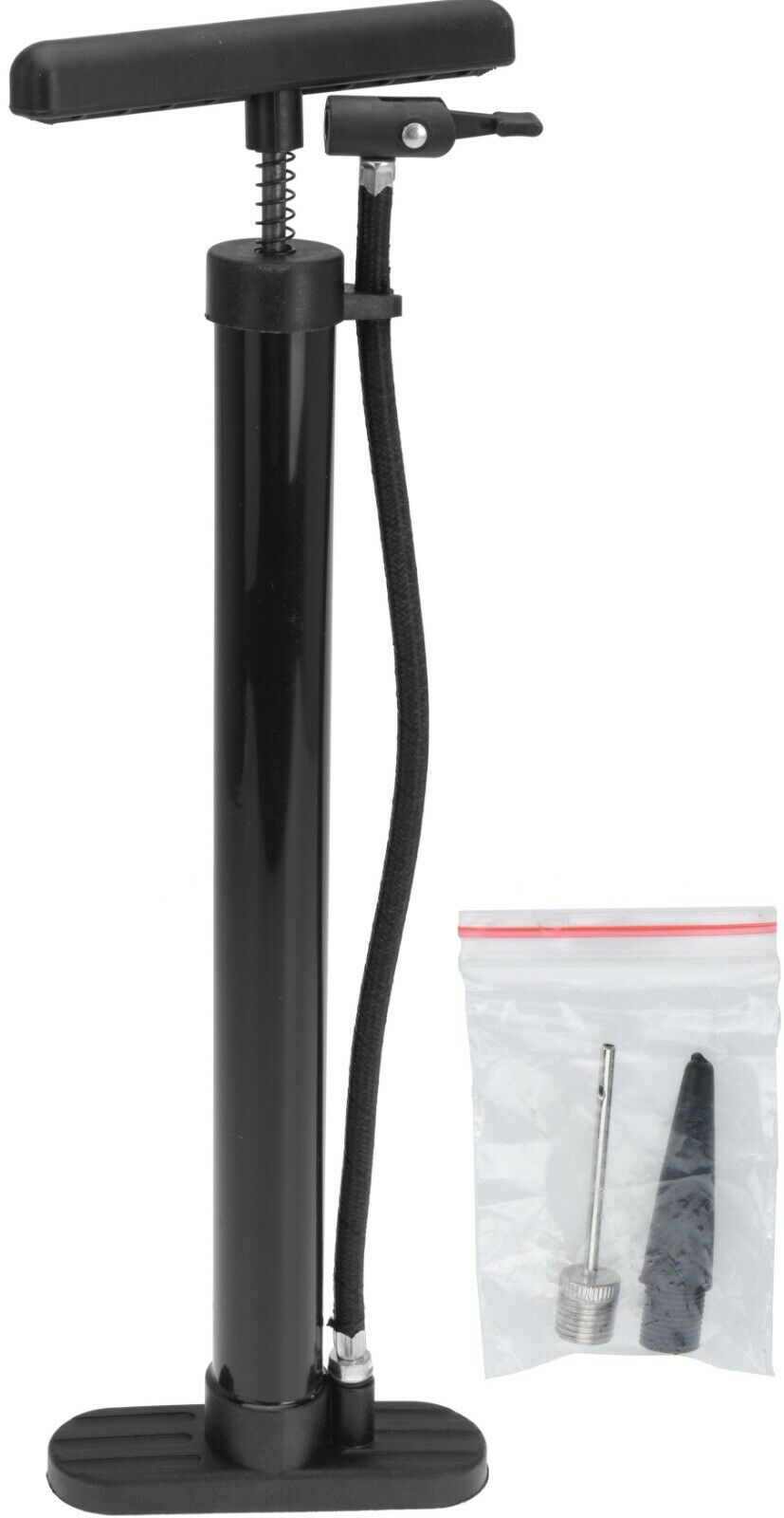 Bike Track Pump Bicycle Pump For Balls Airbeds Pump With Attachments