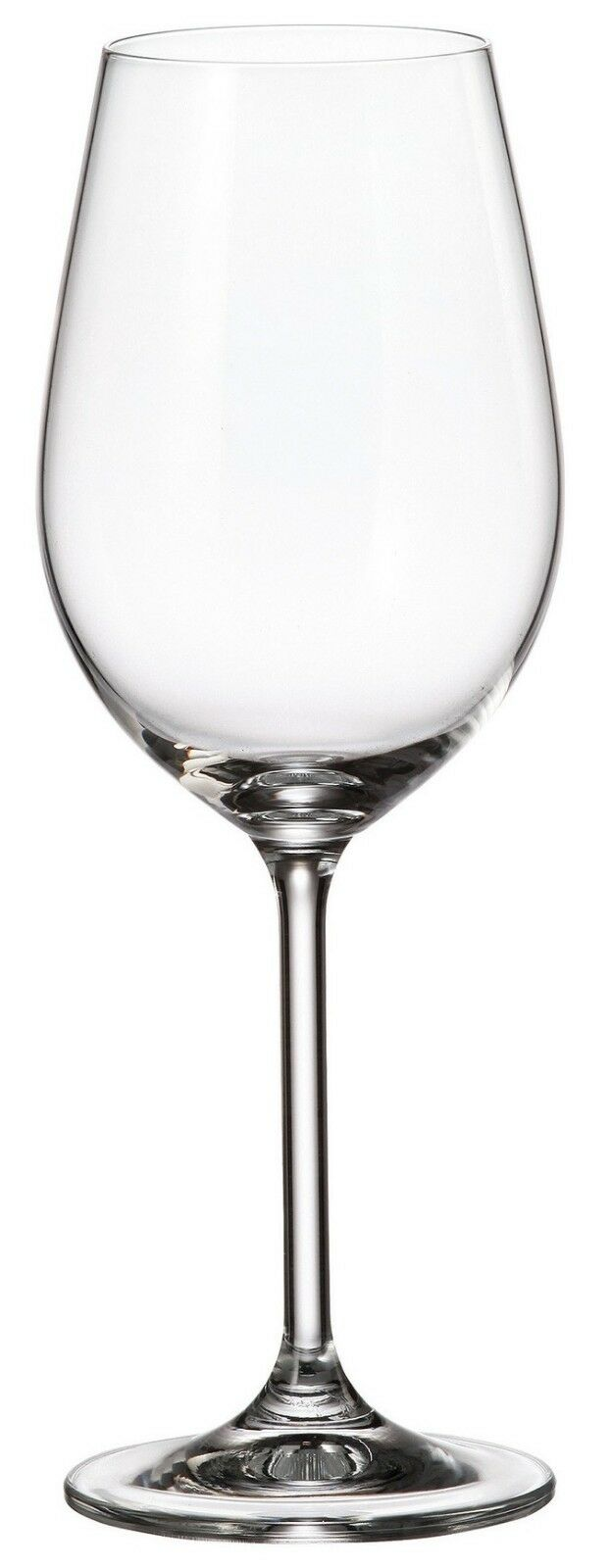 Bohemia Crystal Set of 6 White Wine Glasses Colibri Range 350ml