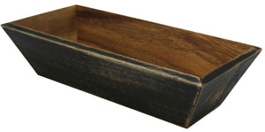 30cm Acacia Wood Bread Box Bread Dish