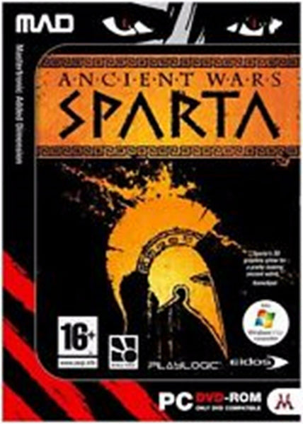 Ancient Wars Sparta PC Dvd Rom Computer Game Conquer The World