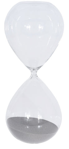 90 Minute Sand Timer Large Ball Shaped 1.5 Hour Glass Sand timer Retro Timer