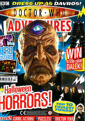 Doctor Who Magazine With Free Halloween Dress Up Face Mask & Claws