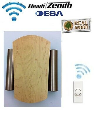 Desa Elegance 76 Wireless Cordless Door Bell Chime Kit & Wireless Push Button