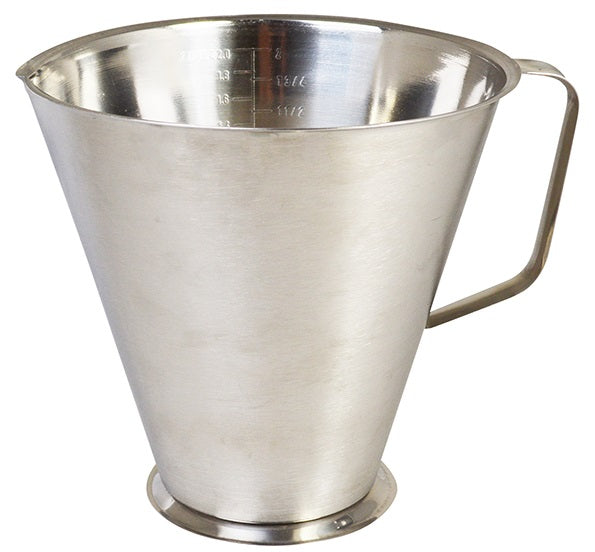 Sunnex Stainless Steel Measuring Jug 1 or 2 Litre Measuring Jugs Dishwasher Safe.