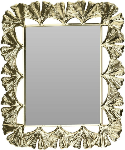35cm Rectangle Gold Wall Mirror Floral Mirror Design Dressing Table Mirror