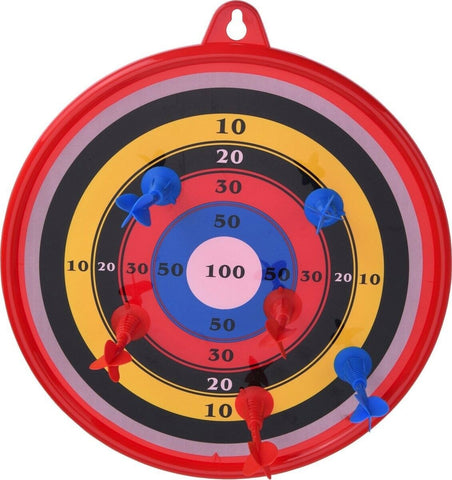 30cm Dartboard With 6 Darts. Indoor Games Childrens Games Dartboard With Darts