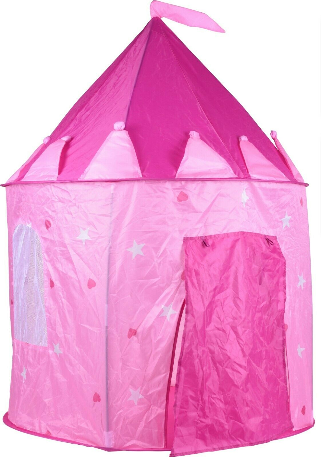 Castle Play Tent for Children Girls Indoor Play House Castle Tent Pink princess