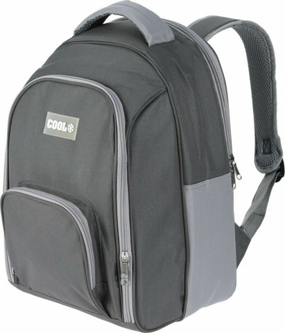 12 Litre Insulated Cooler Bag RuckSack Insulated Bag BackPack Grey